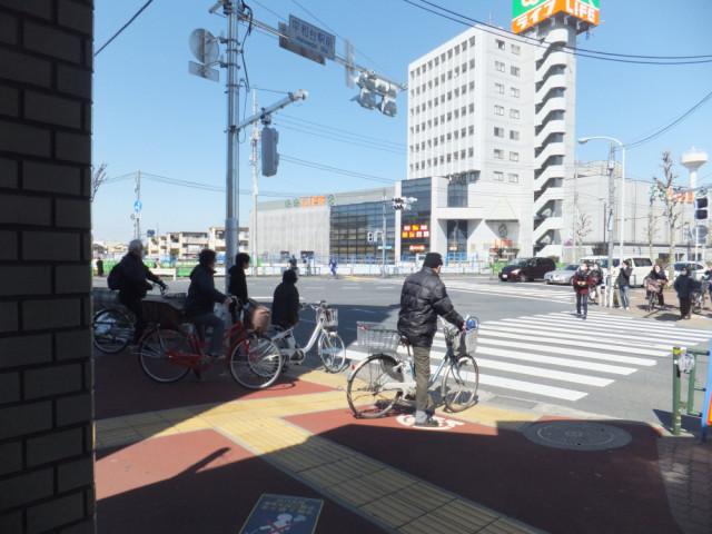 平和台駅1番出口からの風景