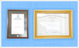 カイロプラクティック学位とAK国際認定証
