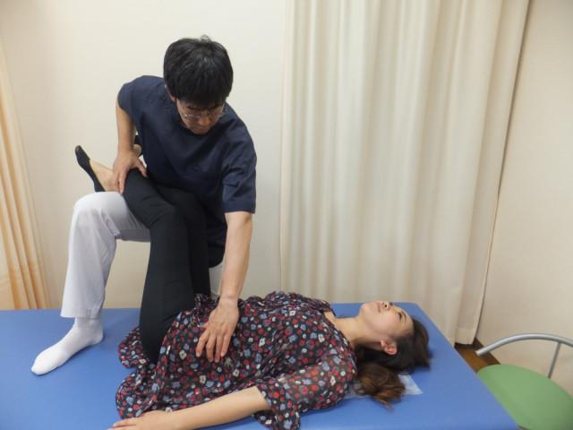 腰椎のカウンターストレイン